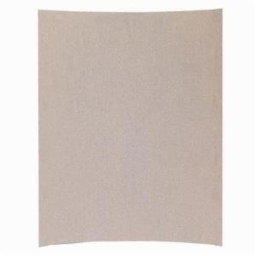 Norton® Merit® No-Fil® Sand-O-Flex™ 66623311874 PB273 Coated Abrasive Sheet, 11 in L x 9 in W, P180 Grit, Fine Grade, Aluminum Oxide Abrasive, Anti-Loading Paper Backing