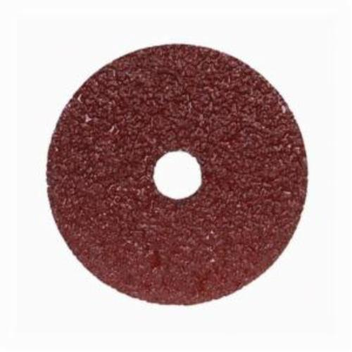 Merit® Metal® 66623353306 F226/F240 Coated Abrasive Disc, 4-1/2 in Dia, 7/8 in Center Hole, 36 Grit, Extra Coarse Grade, Aluminum Oxide Abrasive, Center Mount Attachment
