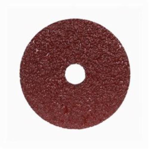 Merit® Metal® 66623353311 F226/F240 Coated Abrasive Disc, 4-1/2 in Dia, 7/8 in Center Hole, 60 Grit, Medium Grade, Aluminum Oxide Abrasive, Center Mount Attachment