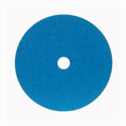 Merit® 66623353315 FX672 Coated Abrasive Disc, 4-1/2 in Dia, 7/8 in Center Hole, 24 Grit, Extra Coarse Grade, Zirconia Alumina Abrasive, Center Mount Attachment