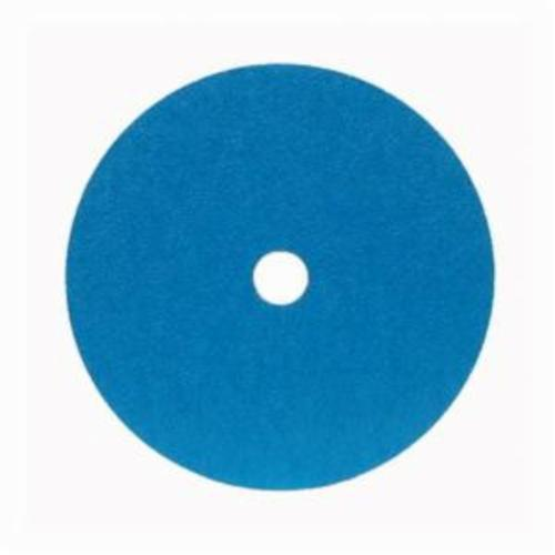 Merit® 66623353316 FX672 Coated Abrasive Disc, 4-1/2 in Dia, 7/8 in Center Hole, 36 Grit, Extra Coarse Grade, Zirconia Alumina Abrasive, Center Mount Attachment
