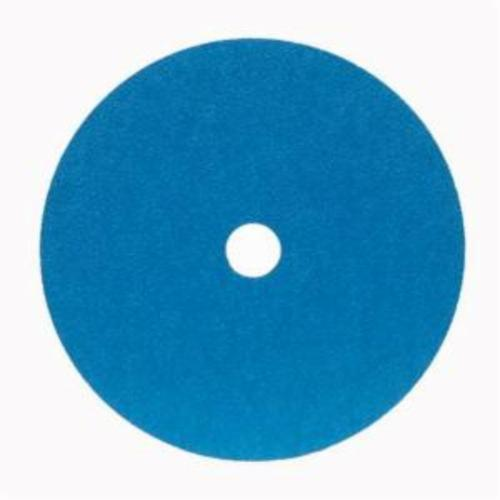 Merit® 66623353320 FX672 Coated Abrasive Disc, 4-1/2 in Dia, 7/8 in Center Hole, 80 Grit, Medium Grade, Zirconia Alumina Abrasive, Center Mount Attachment
