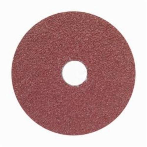 Norton® Merit® 66623355600 FX965 Coated Abrasive Disc, 5 in Dia, 7/8 in Center Hole, 60 Grit, Medium Grade, Ceramic Alumina Abrasive, Center Mount Attachment