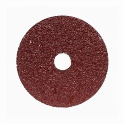 Norton® Merit® Metal® 66623357281 F240 Coated Abrasive Disc, 5 in Dia, 7/8 in Center Hole, 100 Grit, Fine Grade, Aluminum Oxide Abrasive, Center Mount Attachment
