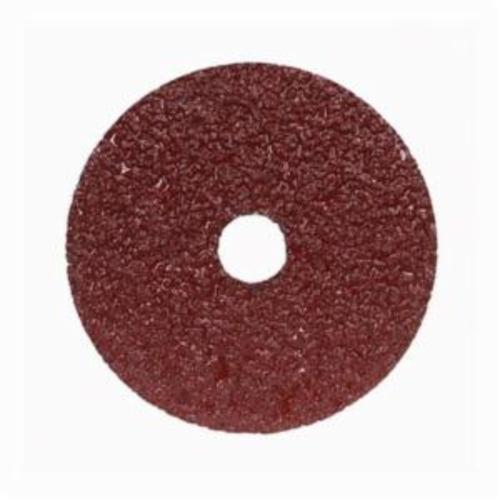 Norton® Merit® Metal® 66623357282 F240 Coated Abrasive Disc, 5 in Dia, 7/8 in Center Hole, 120 Grit, Fine Grade, Aluminum Oxide Abrasive, Center Mount Attachment