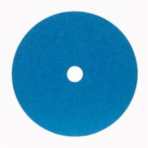 Merit® 66623357293 FX672 Coated Abrasive Disc, 5 in Dia, 7/8 in Center Hole, 60 Grit, Medium Grade, Zirconia Alumina Abrasive, Center Mount Attachment