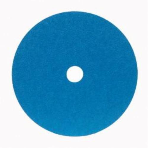 Norton® Merit® 66623357298 FX672 Coated Abrasive Disc, 7 in Dia, 7/8 in Center Hole, 60 Grit, Medium Grade, Zirconia Alumina Abrasive, Center Mount Attachment