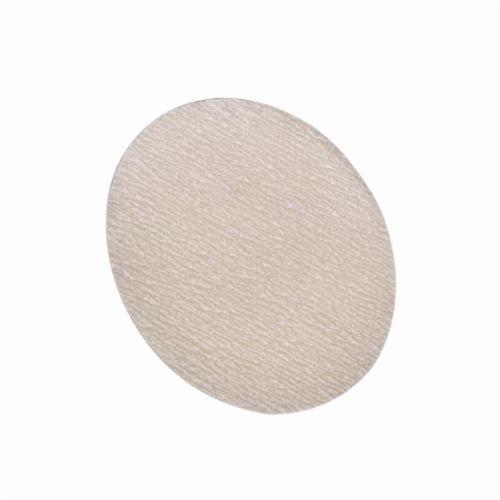 Norton® Merit® 66623362943 No-Load® PB273 Hook and Loop Disc, 5 in Dia, P400 Grit, Super Fine Grade, Aluminum Oxide Abrasive, Latex Paper Backing