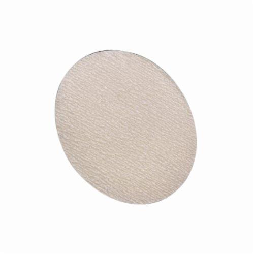 Norton® Merit® 66623362946 No-Load® PB273 Hook and Loop Disc, 5 in Dia, P220 Grit, Very Fine Grade, Aluminum Oxide Abrasive, Latex Paper Backing