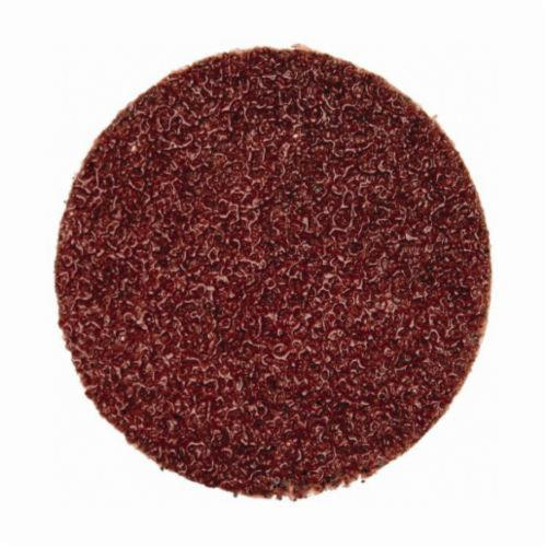 Norton® Merit® 69957399753 Coated Abrasive Quick-Change Disc, 1 in Dia, 60 Grit, Coarse Grade, Aluminum Oxide Abrasive, Type TP (Type I) Attachment
