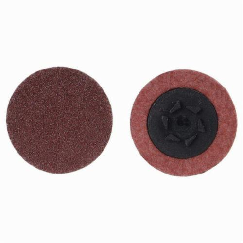 Norton® Merit® 69957399785 Coated Abrasive Quick-Change Disc, 3 in Dia, 24 Grit, Extra Coarse Grade, Aluminum Oxide Abrasive, Type TP (Type I) Attachment