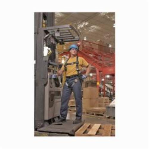 Miller® by Honeywell RDT-QC/UBK Revolution™ Harness, Universal, 400 lb Load, DualTech® Strap, Quick-Connect Leg Strap Buckle, Quick-Connect Chest Strap Buckle, Cam Shoulder Strap Buckle, Steel Hardware, Black