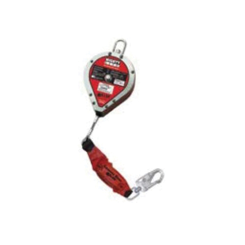 Miller® by Honeywell RLS30G-Z7LE/30FT MightyLite™ Leading Edge Self-Retracting Lifeline With Tagline, Carabiner and Shock-Absorbing Packs, 310 to 400 lb Load Capacity, 30 ft L, Specifications Met: ANSI A10.32, ANSI Z359.14 Class B
