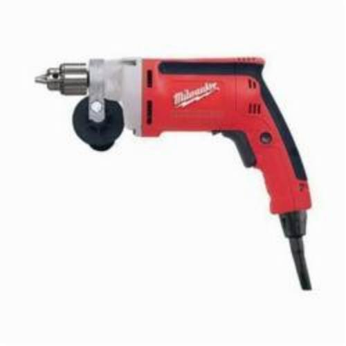 Milwaukee® 0100-20 Magnum™ Grounded Electric Drill, 1/4 in Keyed Chuck, 120 VAC, 2500 rpm, 11-1/2 in OAL, Tool Only