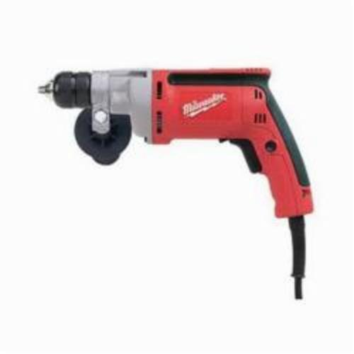 Milwaukee® 0201-20 Magnum™ Double Insulated Electric Drill, 3/8 in 2-Sleeve/Keyless Chuck, 120 VAC, 0 to 2500 rpm, 12 in OAL, Tool Only