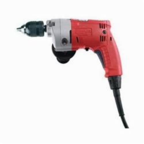 Milwaukee® 0235-21 Magnum™ Grounded Electric Drill, 1/2 in 1-Sleeve/Keyless Chuck, 120 VAC, 950 rpm, 10-1/2 in OAL, Tool Only
