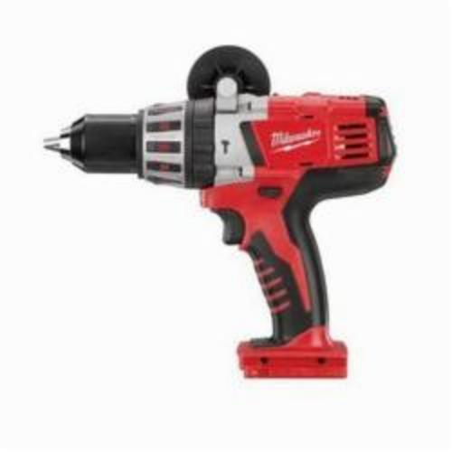 Milwaukee® 0726-20 M28™ Cordless Hammer Drill, 1/2 in Metal Single Sleeve Ratcheting Lock Chuck, 750 in-lb Torque, 28 VDC, Lithium-Ion Battery
