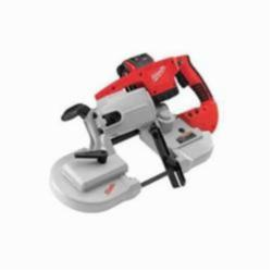 Milwaukee® 0729-21 M28™ Cordless Band Saw Kit, 4-3/4 in Cutting, 44.875 in L x 0.5 in W x 0.02 in THK Blade, 28 VDC, 3 Ah Lithium-Ion Battery