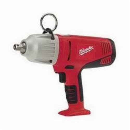 Milwaukee® 0779-20 M28™ Heavy Duty Cordless Impact Wrench, 1/2 in Square Drive, 0 to 2450 bpm, 325 ft-lb Torque, 28 VDC, 12-1/8 in OAL, Tool Only