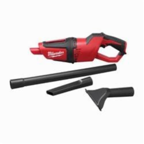 Milwaukee® M12™ 0850-20 Compact Cordless Vacuum, 0.63 qt, 12 VDC, Lithium-Ion Battery