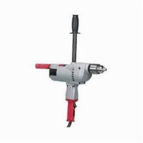 Milwaukee® 1854-1 Grounded Large Electric Drill, 3/4 in Keyed Chuck, 120 VAC/VDC, 350 rpm, 18-1/2 in OAL, Tool Only