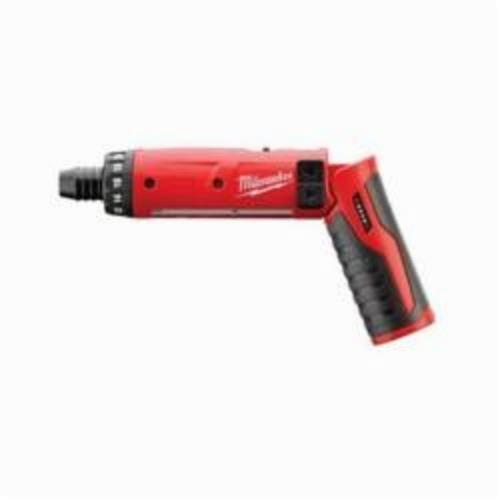 Milwaukee® M4™ 2101-20 Cordless Screwdriver, 1/4 in Chuck, 4 VDC, 44 in-lb Torque, Lithium-Ion Battery