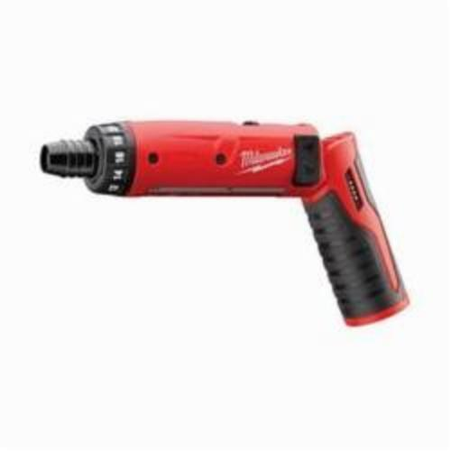 Milwaukee® 2101-20 M4™ Cordless Screwdriver, 1/4 in Chuck, 44 in-lb, 4 VDC, Lithium-Ion Battery, Plastic Housing