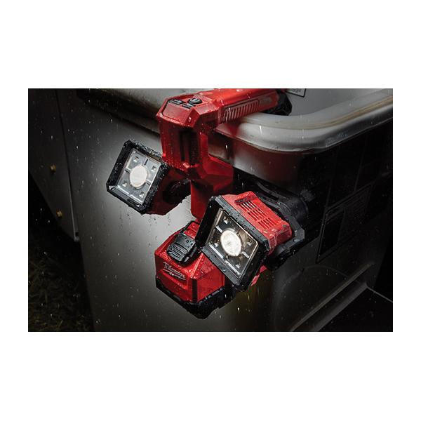 Milwaukee® M18™ 2122-20 Utility Bucket Light, LED Lamp, 18 VDC, Clamp/Flat Base