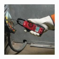 Milwaukee® 2235-20 Heavy Duty Digital Clamp Meter, 600 VAC/VDC, 400 A, 4000 Ohm, 1 in Jaw, Backlit LCD Display