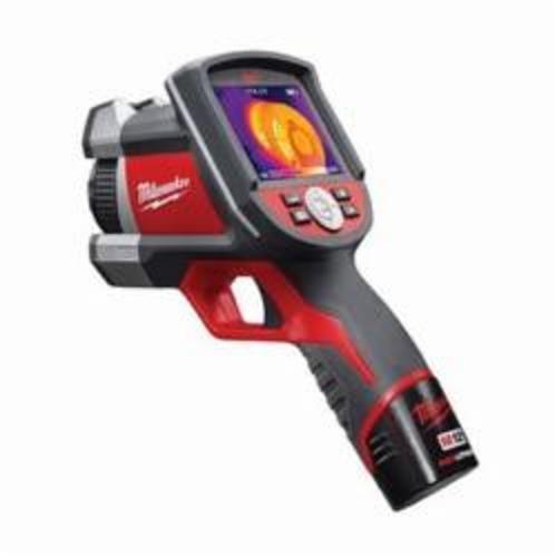 Milwaukee® 2260-21 M12™ Thermal Imager Kit, 3-1/2 in LCD, 14 to 626 deg F, 160 x 120 pixel, 12 VDC