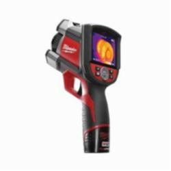 Milwaukee® 2260-21 M12™ Thermal Imager Kit, 3-1/2 in LCD Display, 14 to 626 deg F, 160 x 120 pixel Resolution, 12 VDC