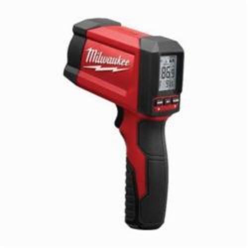 Milwaukee® 2268-20NST TEMP-GUN™ NIST Infrared Thermometer, -22 to 1022 deg F, +/-1.8%, 12:1 Focus Spot, 0.96 Fixed, 9 V Alkaline Battery