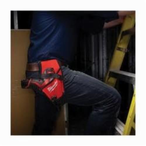 Milwaukee® 2335-20 M12™ Heavy Duty Tool Holster With Bit Storage, Ballistic Nylon, Black/Red