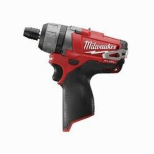 Milwaukee® 2402-20 M12 FUEL™ Compact Cordless Screwdriver, 1/4 in Chuck, 12 VDC, 325 in-lb, Lithium-Ion Battery