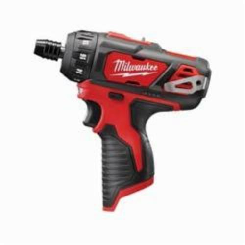 Milwaukee® 2406-20 M12™ Compact Lightweight Cordless Screwdriver, 1/4 in Chuck, 12 VDC, 275 in-lb, Lithium-Ion Battery