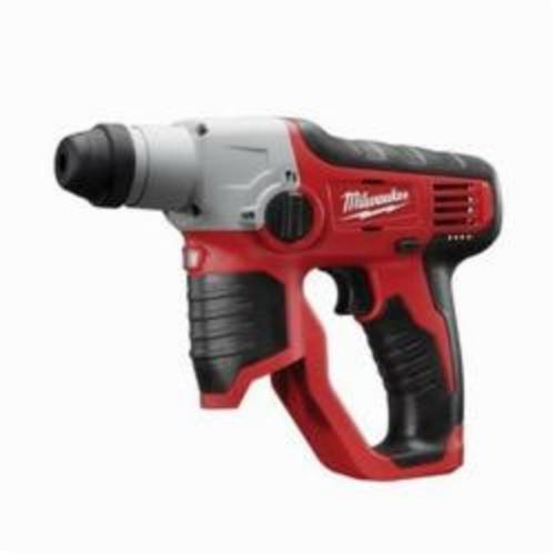 Milwaukee® 2412-20 M12™ Cordless Rotary Hammer, 1/2 in Keyless/SDS Plus® Chuck, 12 VDC, 800 rpm No-Load, Lithium-Ion Battery