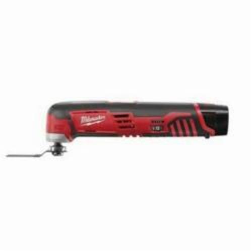 Milwaukee® 2426-22 M12™ Cordless Oscillating Multi-Tool Kit, 5000 to 20000 opm, 12 VDC, Lithium-Ion Battery, 2 Batteries