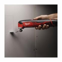Milwaukee® 2426-22 M12™ Cordless Oscillating Multi-Tool Kit, 5000 to 20000 opm Speed, 12 VDC, Lithium-Ion Battery, 2 Batteries