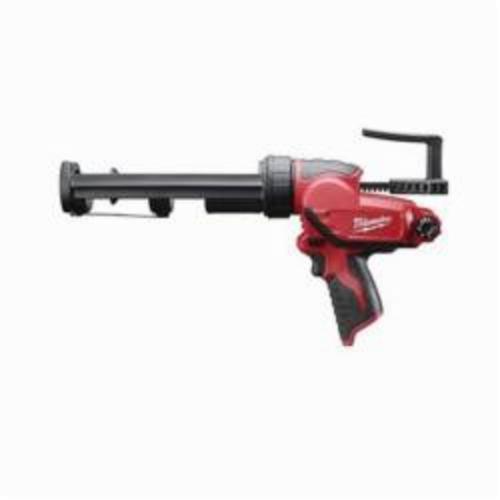 Milwaukee® M12™ 2441-20 Cordless Caulk and Adhesive Gun, 10 oz Container, Black/Red