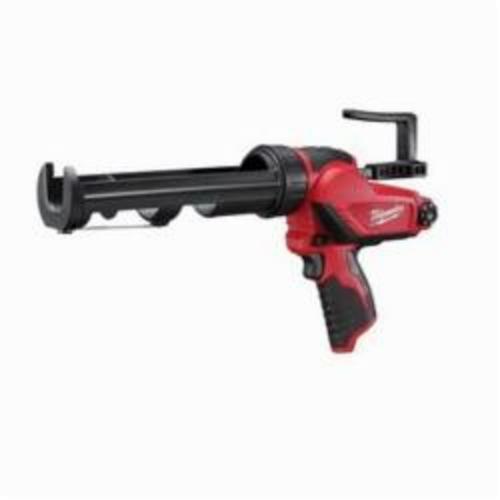Milwaukee® 2441-20 M12™ Cordless Caulk and Adhesive Gun, 10 oz, Red/Black
