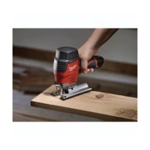 Milwaukee® M12™ 2445-20 Compact High Performance Lightweight Cordless Jig Saw, 12 VDC, For Blade Shank: T-Shank, 8 in OAL, Lithium-Ion Battery