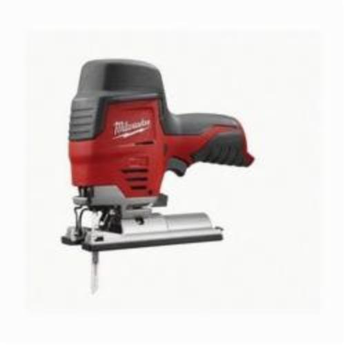 Milwaukee® 2445-20 M12™ Compact High Performance Lightweight Cordless Jig Saw, 12 VDC, For Blade Shank: T-Shank, 8 in OAL, Lithium-Ion Battery