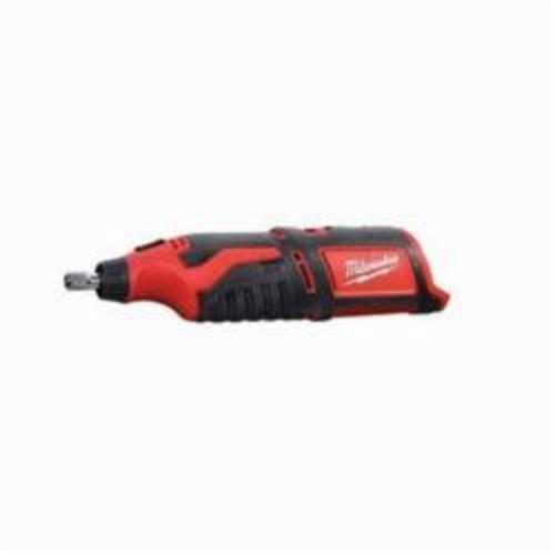 Milwaukee® 2460-20 M12™ Cordless Rotary Tool, 12 VDC, 5000 to 32000 rpm, Lithium-Ion Battery, Slide ON/OFF With Speed Dial Switch