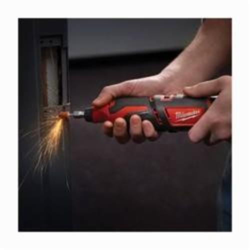 Milwaukee® M12™ 2460-20 Cordless Rotary Tool, 12 VDC, 5000 to 32000 rpm Speed, Lithium-Ion Battery, Slide On/Off with Speed Dial Switch