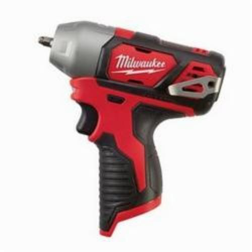 Milwaukee® 2461-20 M12™ Compact Cordless Impact Wrench With Friction Ring, 1/4 in Square Drive, 3800 bpm, 450 in-lb, 12 VDC, 6 in OAL