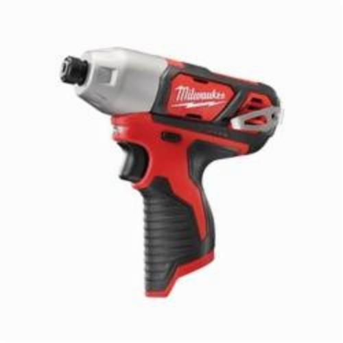 Milwaukee® M12™ 2462-20 High Performance Cordless Impact Driver With Belt Clip, 1/4 in Hex/Straight Drive, 3300 bpm, 1000 in-lb Torque, 12 VAC, 6-1/2 in OAL