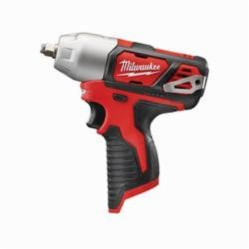 Milwaukee® 2463-20 M12™ Compact Cordless Impact Wrench With Friction Ring, 3/8 in Straight Drive, 3300 bpm, 100 ft-lb, 12 VDC, 6-1/2 in OAL