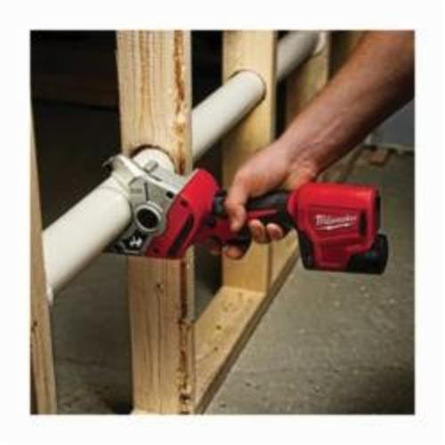 Milwaukee® 2470-20 M12™ Cordless Pipe Shear, 2 in Cutting, 14-3/8 in OAL, Lithium-Ion Battery, Tool Only