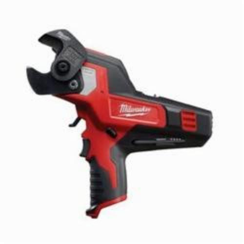 Milwaukee® 2472-20 M12™ REDLITHIUM™ Cordless Cable Cutter, 600 kcmil Copper, 750 kcmil Aluminum Cutting Capacity, 12 VDC, 1.5 to 4 Ah Lithium-Ion Battery