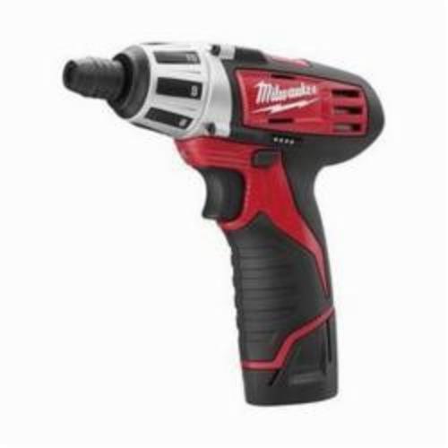 Milwaukee® M12™ 2482-22 2-Tool Cordless Combination Kit, 12 VDC, 1.5 Ah Lithium-Ion REDLITHIUM™ Battery